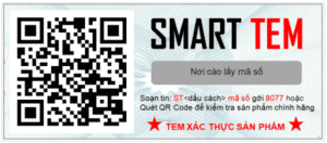 In tem bảo hành QR code