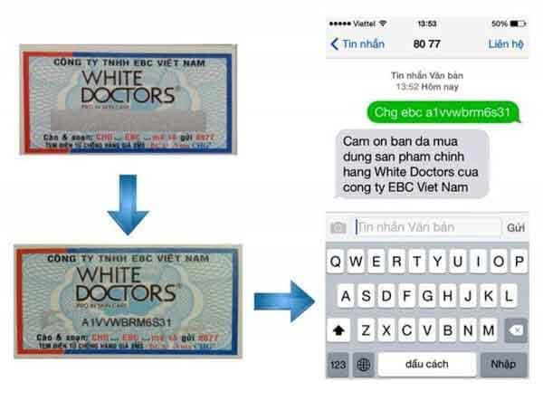 Tem chống hàng giả SMS