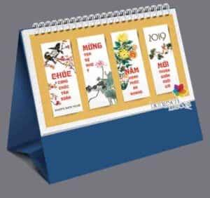 mẫu lịch để bàn đẹp