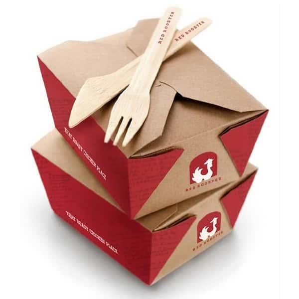 Hộp giấy đựng gà rán, khoai tây chiên
