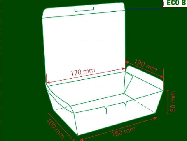 hộp giấy đựng đồ ăn
