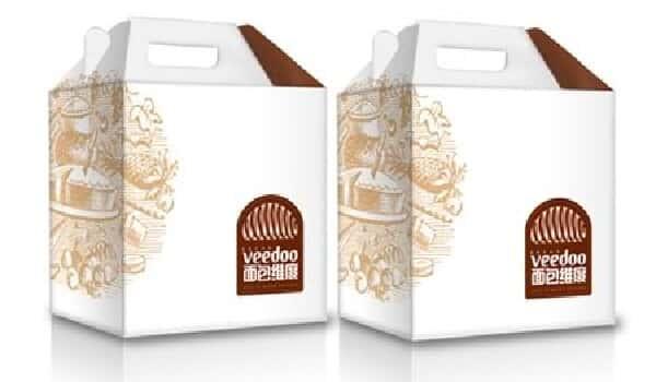 hộp giấy đựng thực phẩm sạch