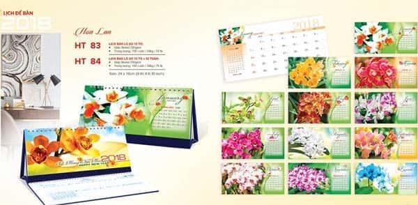 in lịch bàn tại Quận Phú Nhuận