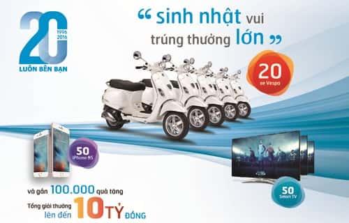 in thẻ cào trúng thưởng tại Bình Định