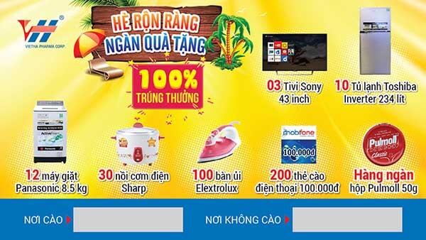 in ấn thẻ cào trúng thưởng tại An Giang