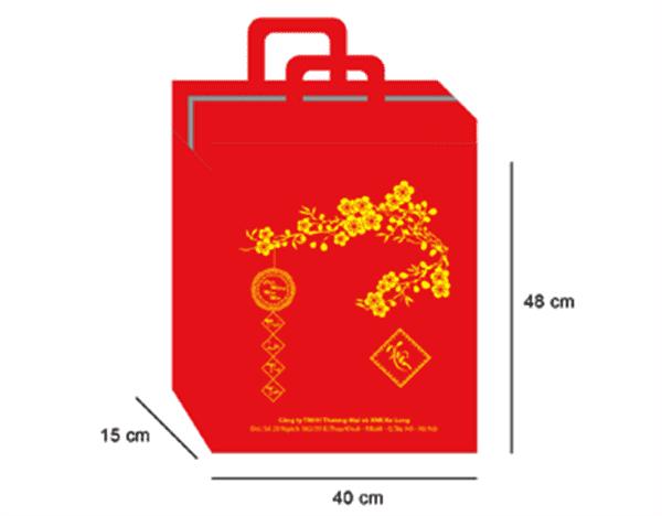 In ấn túi giấy đựng quà tết tại Nha Trang