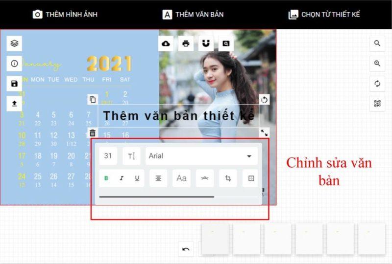 Thiết kế lịch để bàn online 51