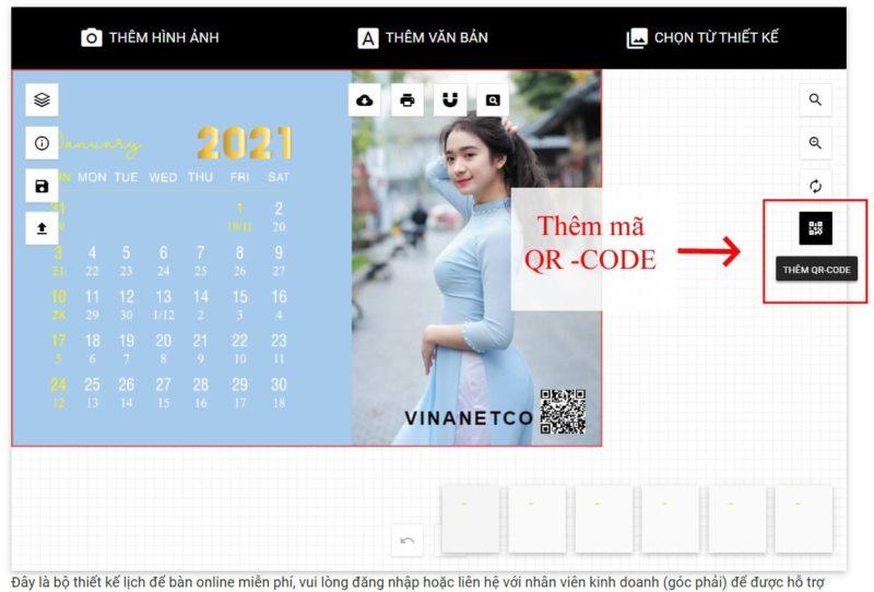 Thiết kế lịch để bàn online 52