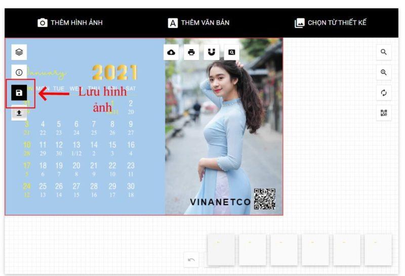 Thiết kế lịch để bàn online 59